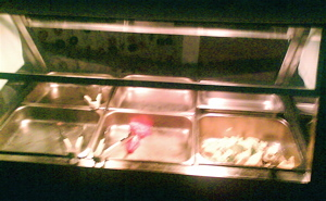 The empty bain-marie at Ballina Beach Resort