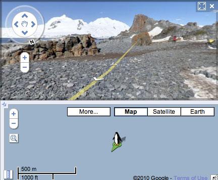 Streetview Antarctica